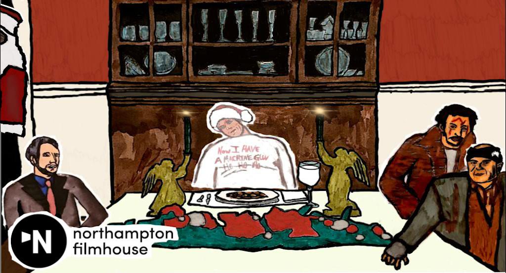 3. Animation Gif- Dinning room table scene.