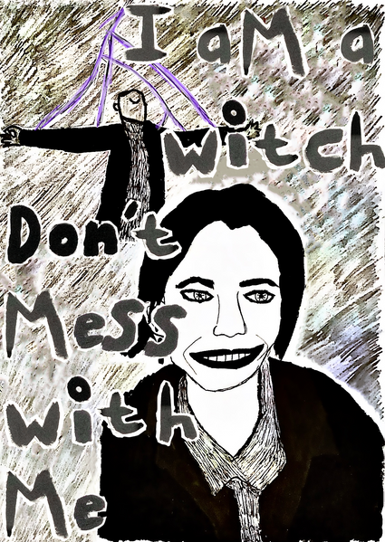 Image 2- I am a Witch.