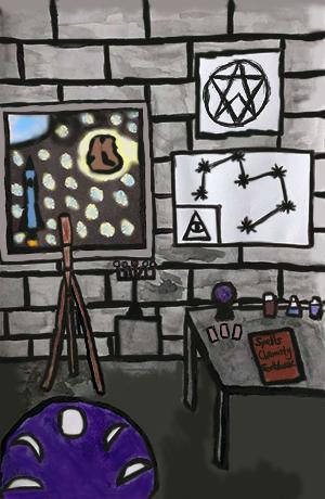 2. Image- Science Lab/Observatory.