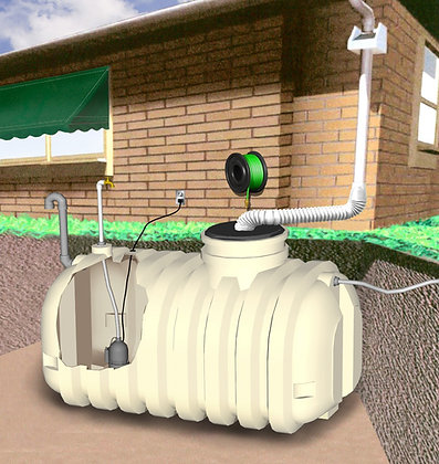 Underground Rainwater Harvest System