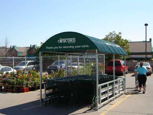 Concord Food Centre Covered Cart Corrals