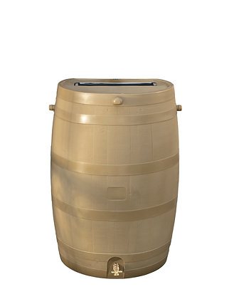 Oak Rain Barrel