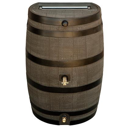 Flat Back Dual Spigot Rain Barrel