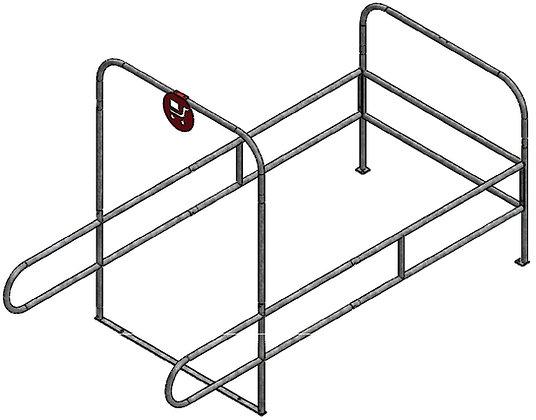 Double Wide Standard Cart Corrals