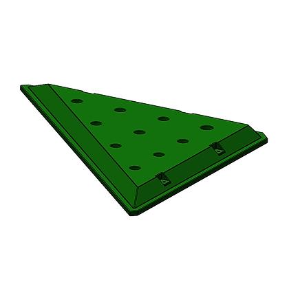 Triangle Plastic Platform