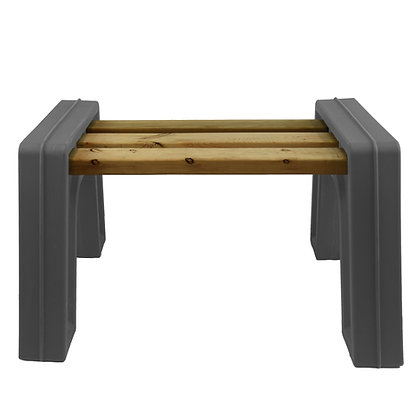 Modern Bench Ends Without Backrest