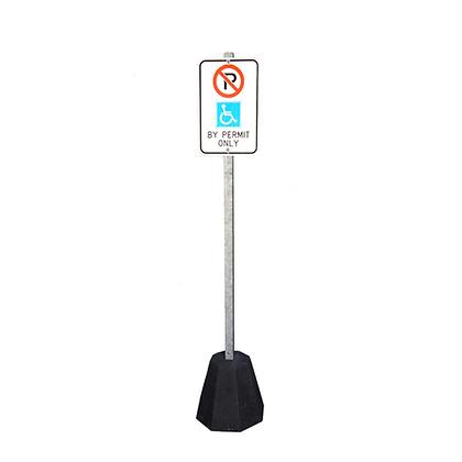Concrete Base Parking Lot Signs
