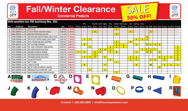 Fall_Winter Clear Out Stock Sale - Comme