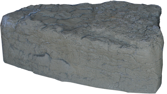 Grey Armor Triangle Stone
