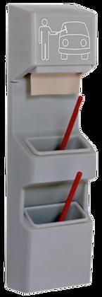 Double Bucket Windshield Wash Station