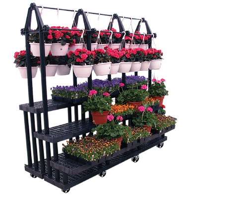 Mobile 3-Step Plant Hanger