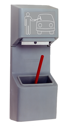 Single Bucket Windshield Wash Station