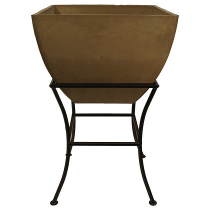 """20"""" Square Planter With Stand"""