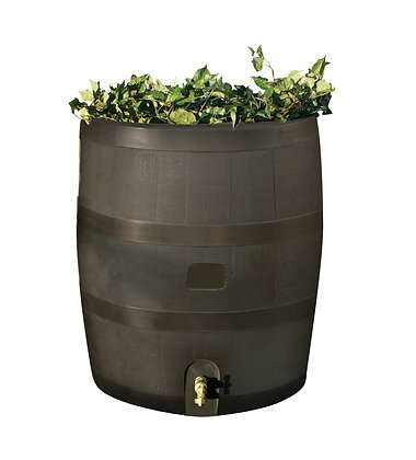 Mud Planter Rain Barrel