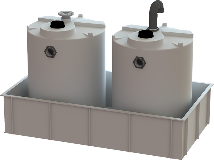 Closed Top Rectangular Storage Tanks
