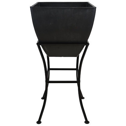 """12"""" Square Planter With Stand"""