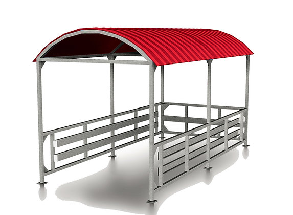 Covered Cart Corral