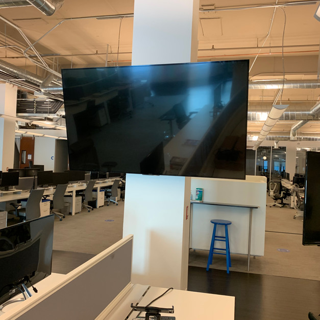 Office Screen Installation