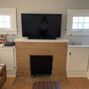 "55"" T.V. Mount with Hidden Wiring"
