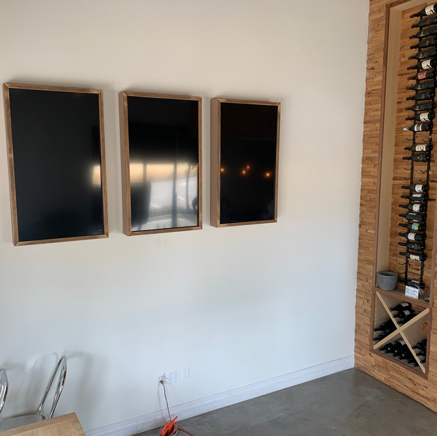 Menu Screens With Hidden Wiring