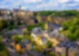 Luxembourg city, the capital of Grand Du