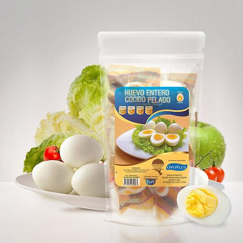 Huevo Cocido y Pelado 6 Unidades