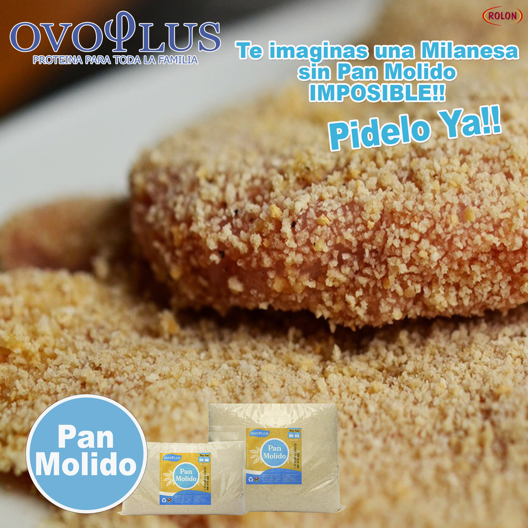 Arte Ovoplus Pan Molido2 Chico
