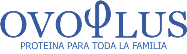 Logo Ovoplus Azul con Proteina PNG ChicoOk.png