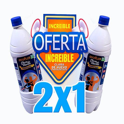 Clara de Huevo Pasteurizada OFERTA 2x1