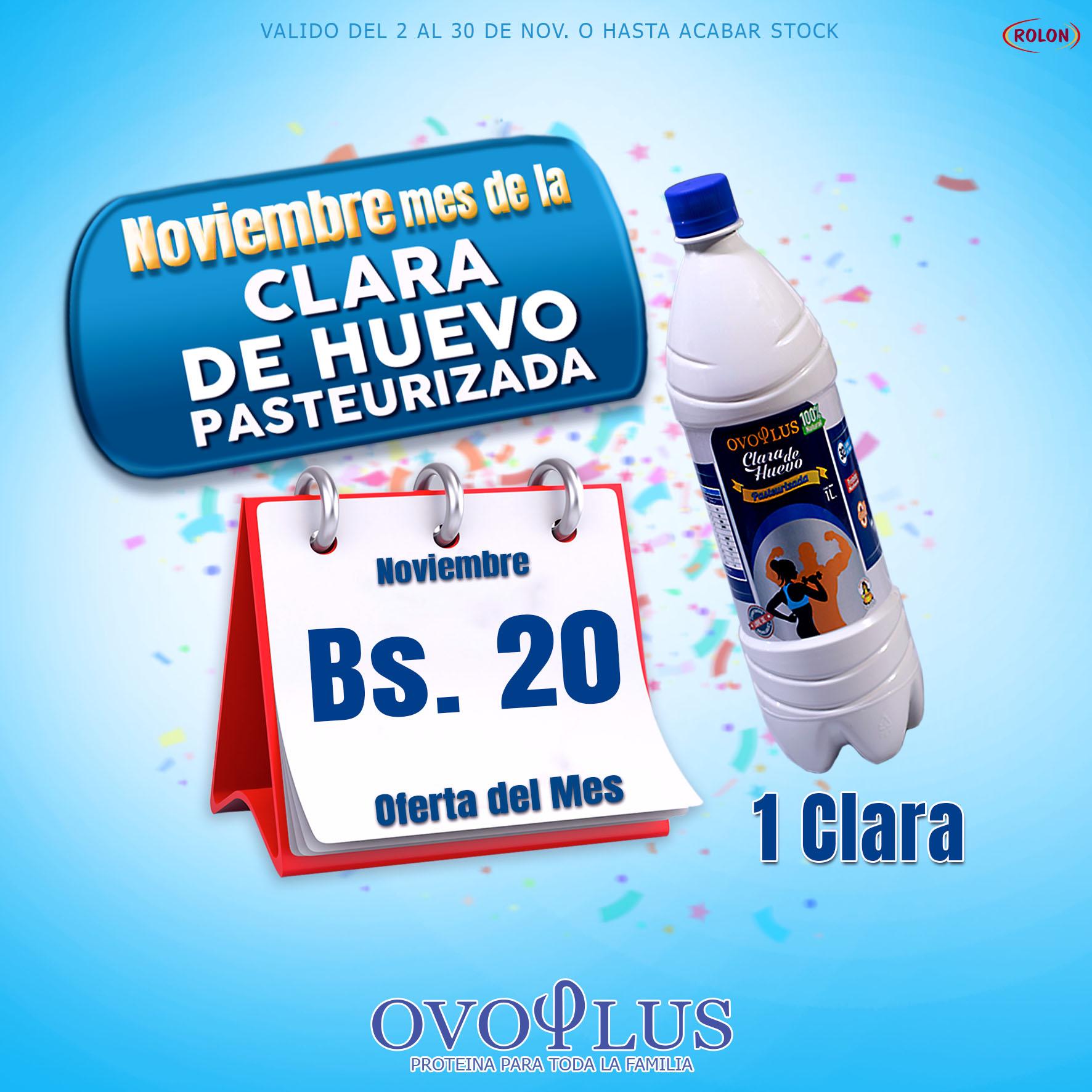 Arte Ovoplus Clara Una Clara Chico