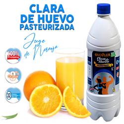 Arte Ovoplus Clara Jugo Naranja