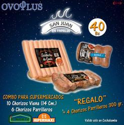 Arte Ovoplus Supermercados Combo San Jua