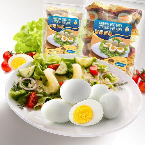 Huevo Cocido y Pelado 10 Unidades