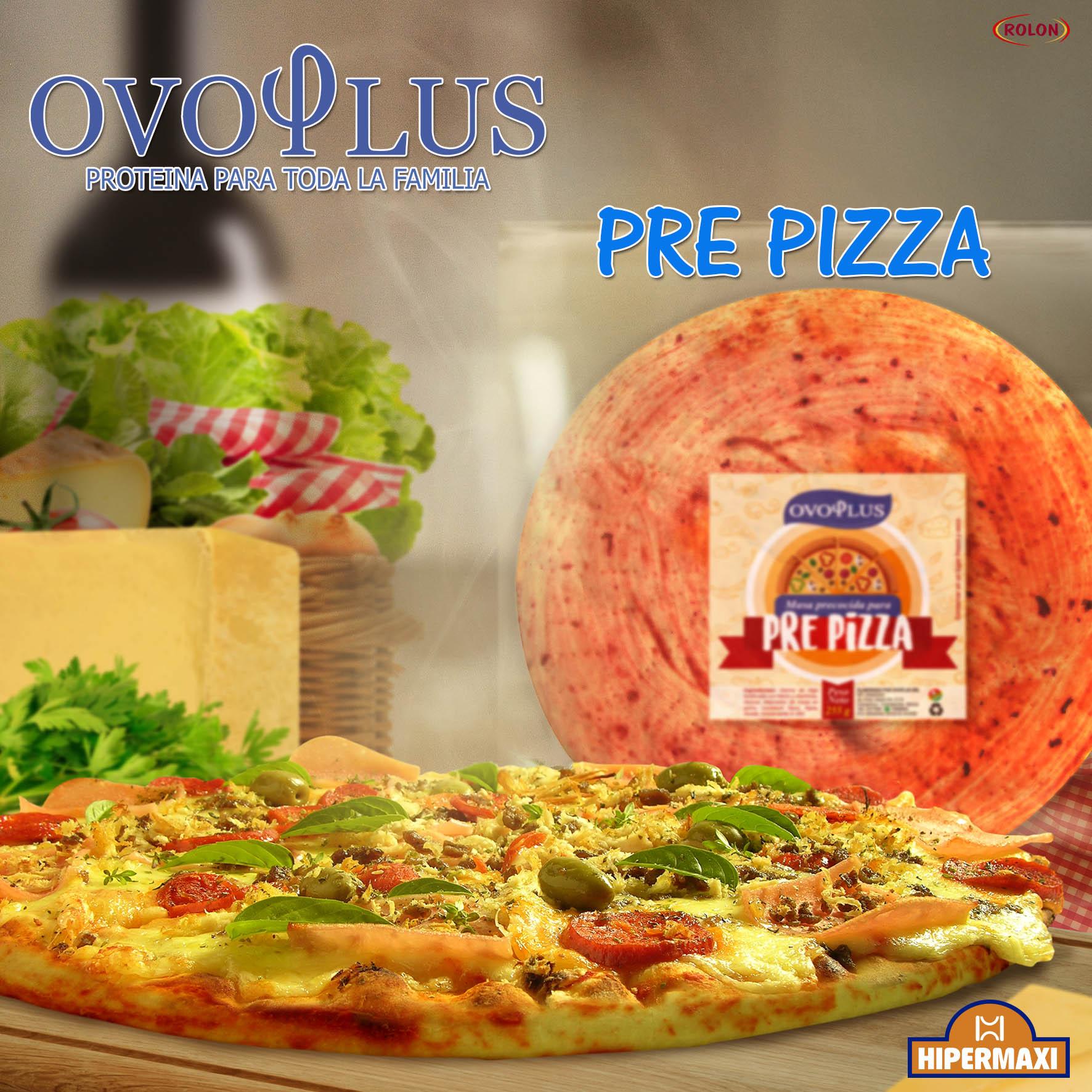 Arte Ovoplus Pre Pizza2 Chico