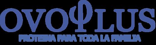 Logo Ovoplus Azul con Proteina Pagina.pn
