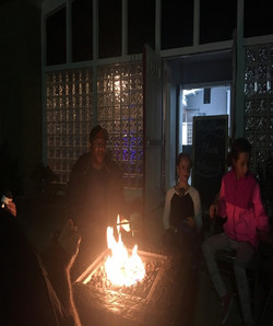 Fire Pit gathering