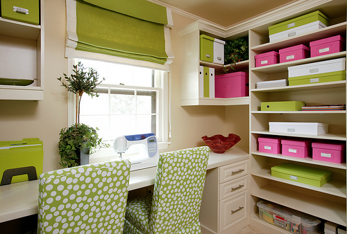 colorful office storage solutions