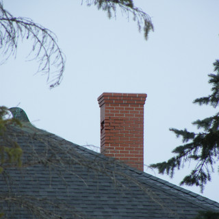 South side of chimney