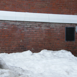 other brickwork lower part of old section