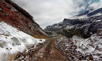 Himalayan roadway