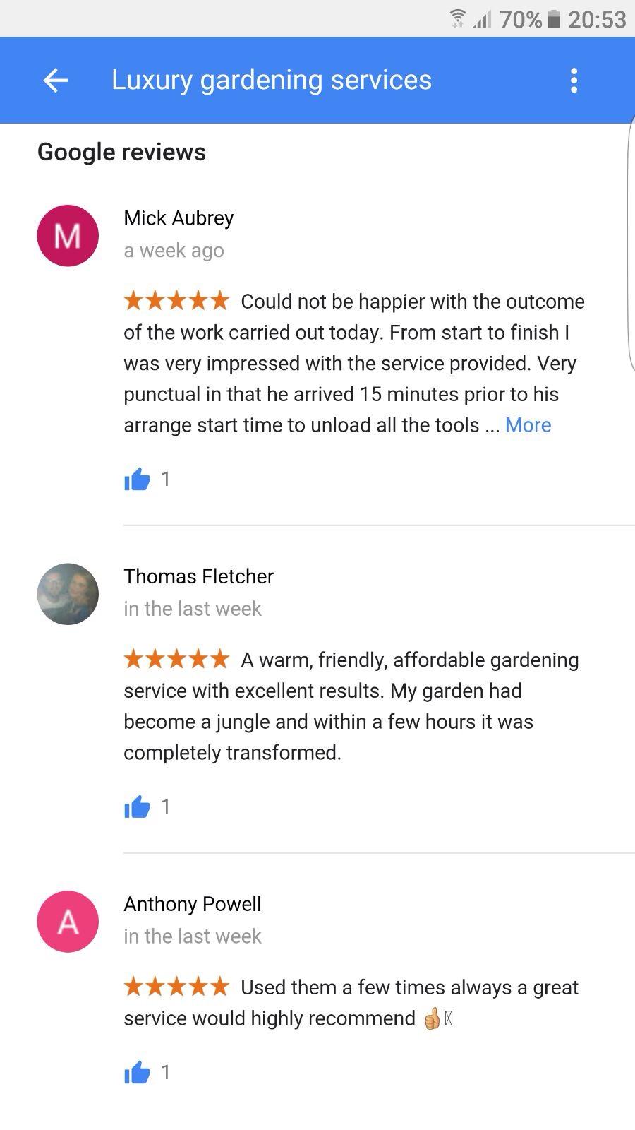 Gardener Liverpool