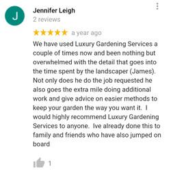 Garden maintenance review