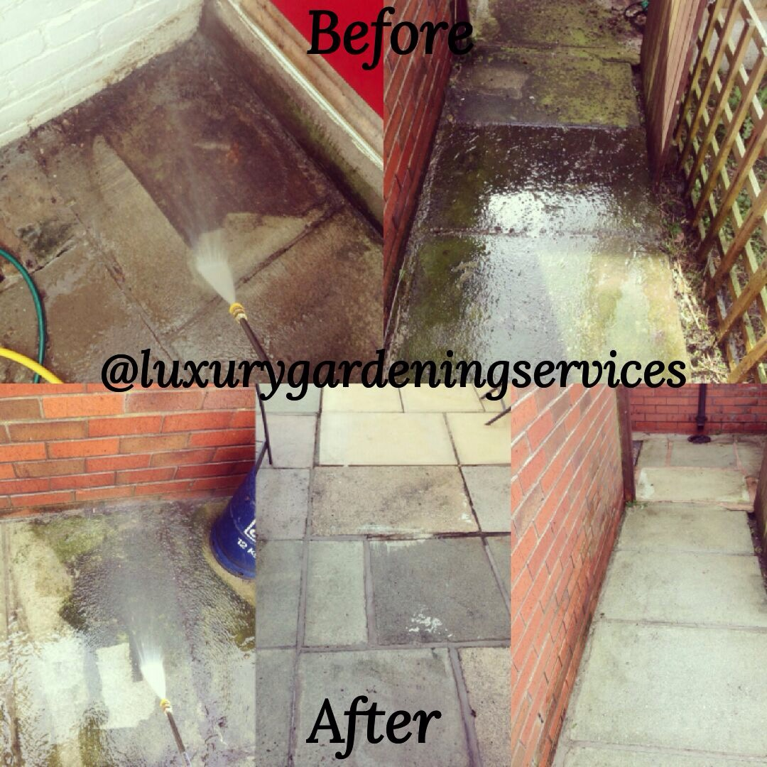Power washing Liverpool