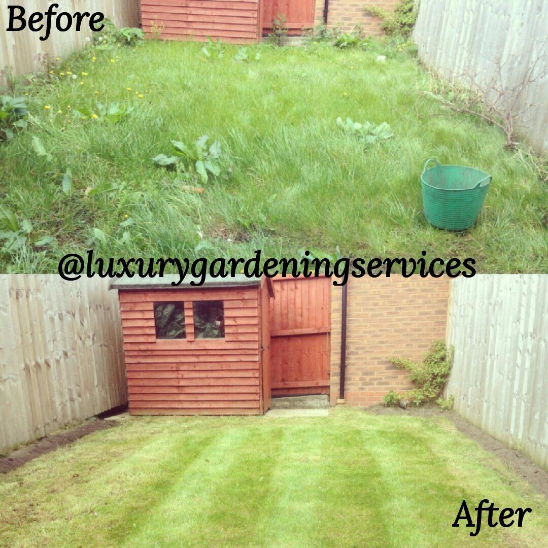 First lawn cut Liverpool