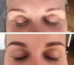 Brow tint by Elena