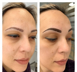 Brows coverage