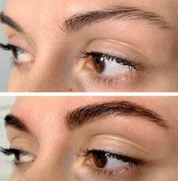Brow shaping and henna by Elena