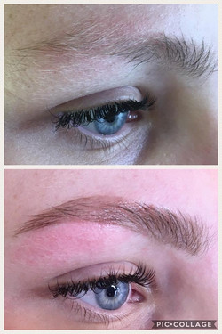 Brow shaping & colouring