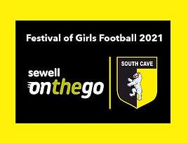 Sewell on the go set to sponsor Festival of Girls Football
