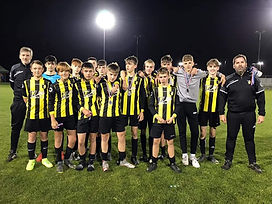 Under 15s go close in ERCFA County Cup Final